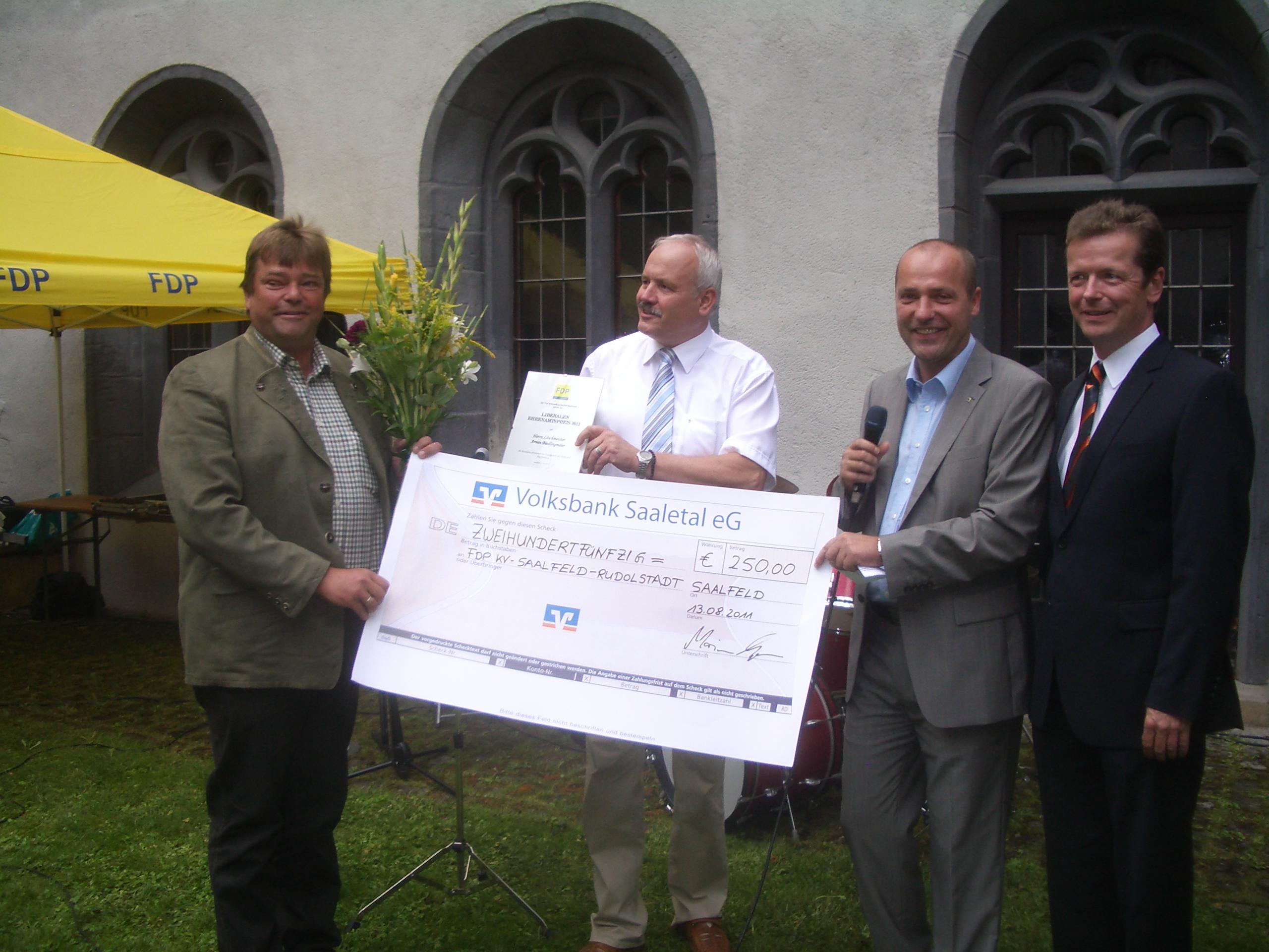 Liberaler Ehrenamtspreis 2011