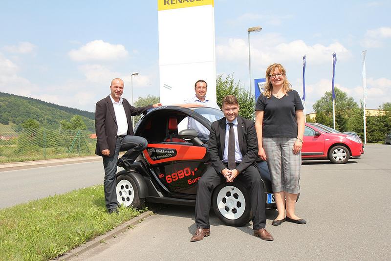 Marian Koppe und Patrick Kurth in Rudolstadt unterwegs