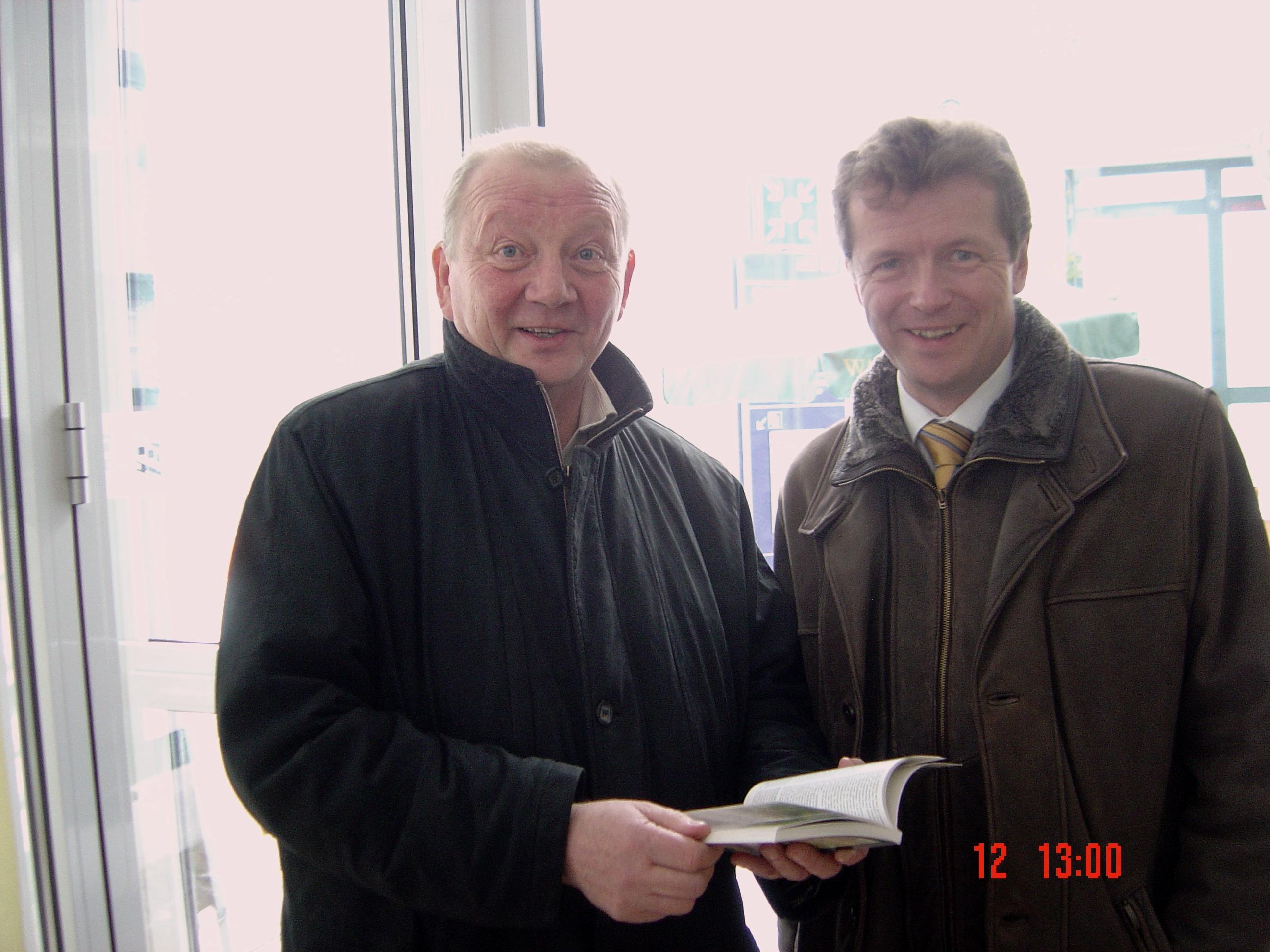 Marian Koppe und Uwe Barth unterwegs im Kreis SLF-RU