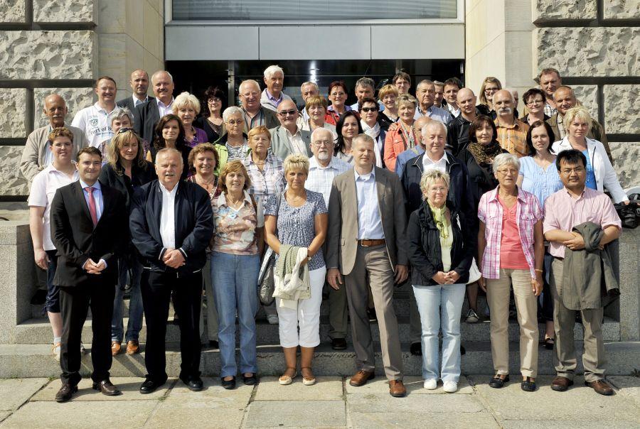 Thüringer Delegation in Berlin