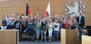 Besuchergruppe im Thüringer Landtag