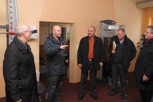 Marian Koppe besucht die Bundeswehr in Oberhof