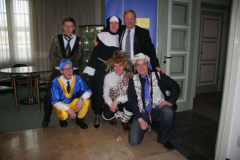 Fasching im Thüringer Landtag