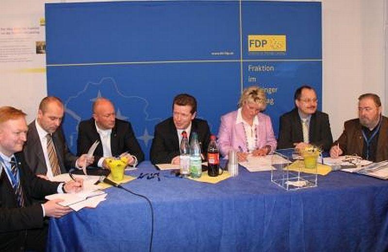 FDP-Fraktion unterwegs in Eisenach