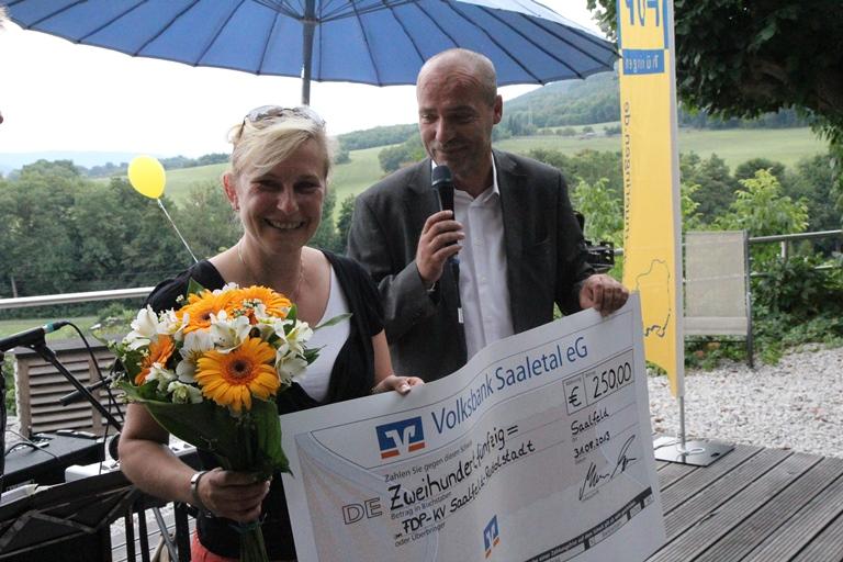 FDP-Sommerfest 2013 in Saalfeld