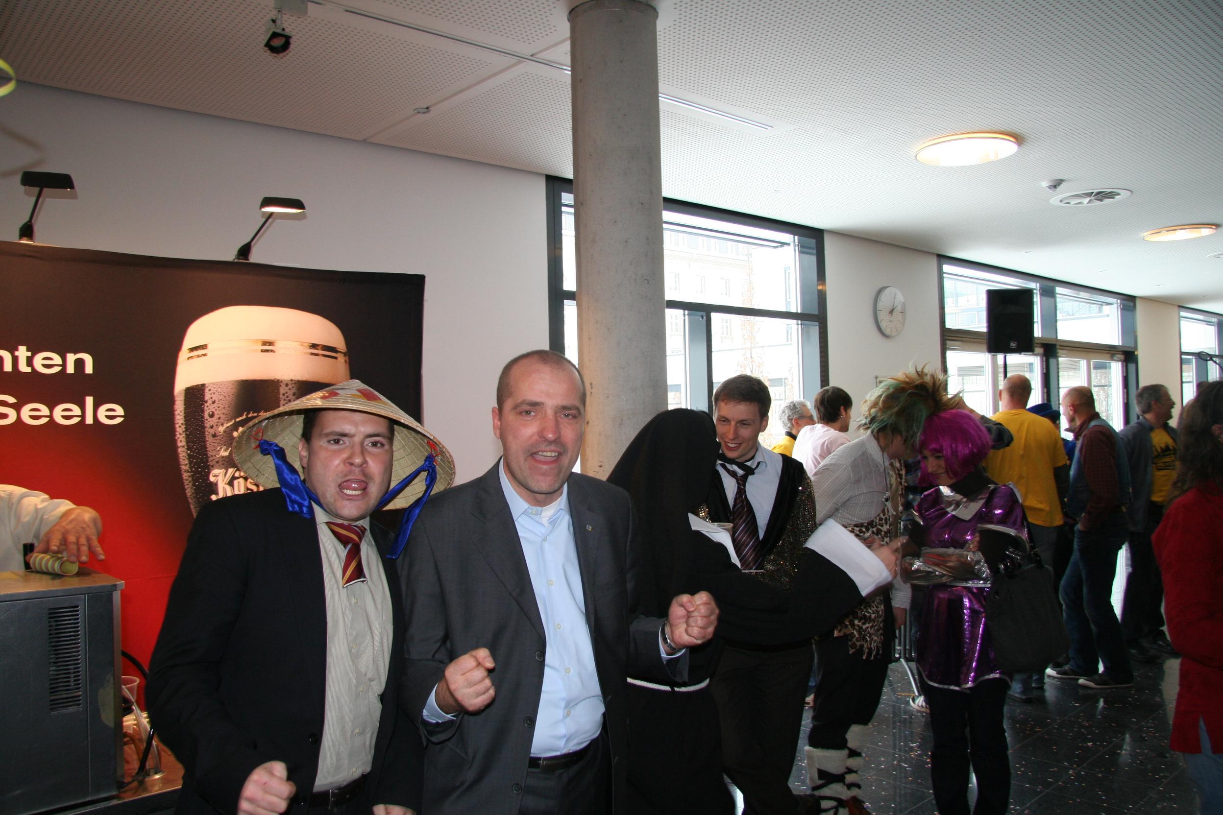 Fasching im Landtag, Marian Koppe, MdL