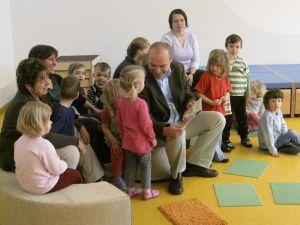 Marian Koppe in der Köppelsdorfer Kinderwelt