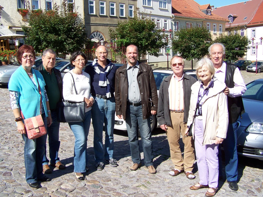 Auf dem Königseer Marktplatz