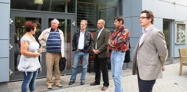 Der FDP-Landesfachausschuss zu Besuch in Königsee