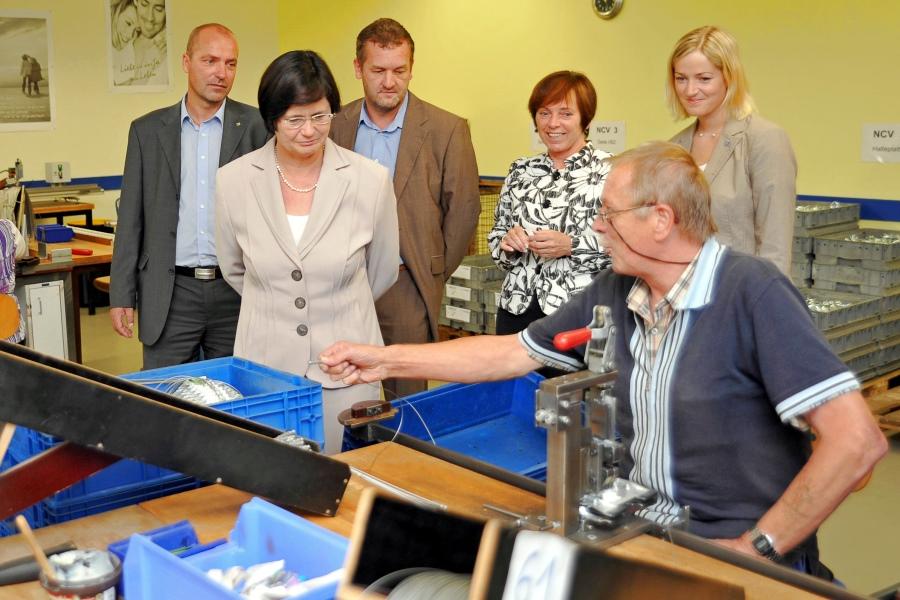 Sommertour der Frau Ministerpräsidentin Lieberknecht