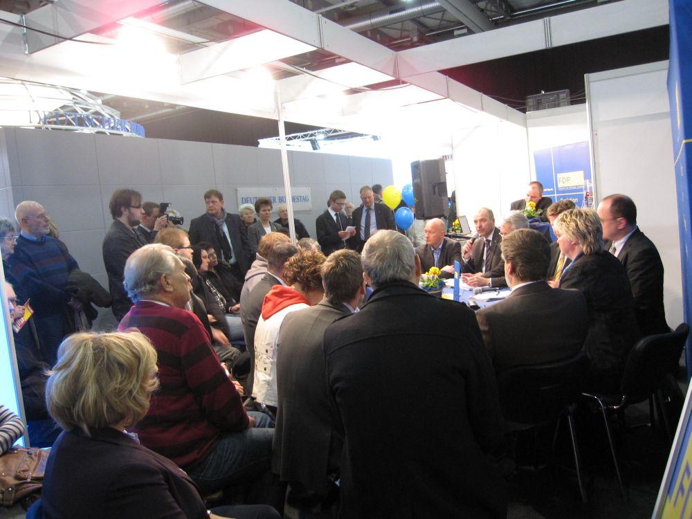 Öffentliche Fraktionssitzung auf der Thüringenausstellung 2011