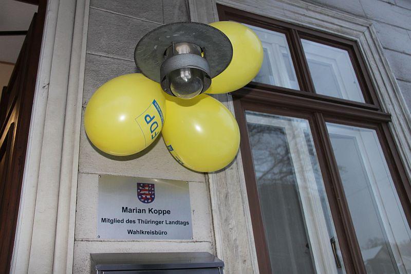 Eröffnung Wahlkreisbüro Rudolstadt