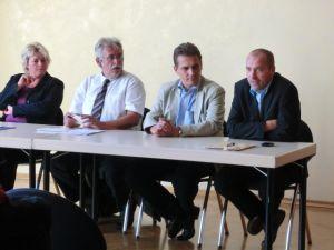 Vertreter der Landes- und Kreis-FDP