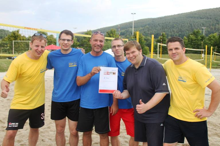 Volleyballturnier Landessportbund