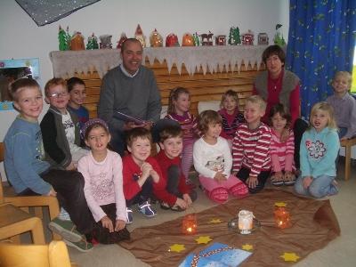 Königseer Kindergartenkinder überrascht