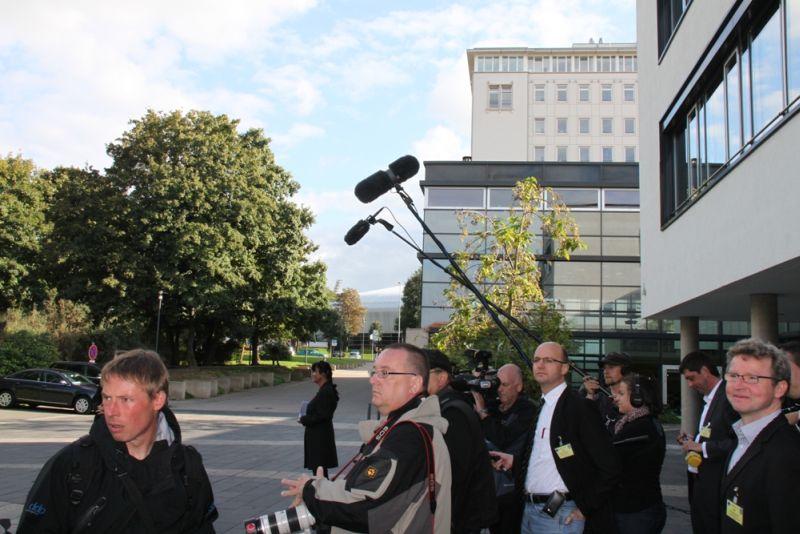 Bundespräsident Christian Wulff besuchte den Thüringer Landtag