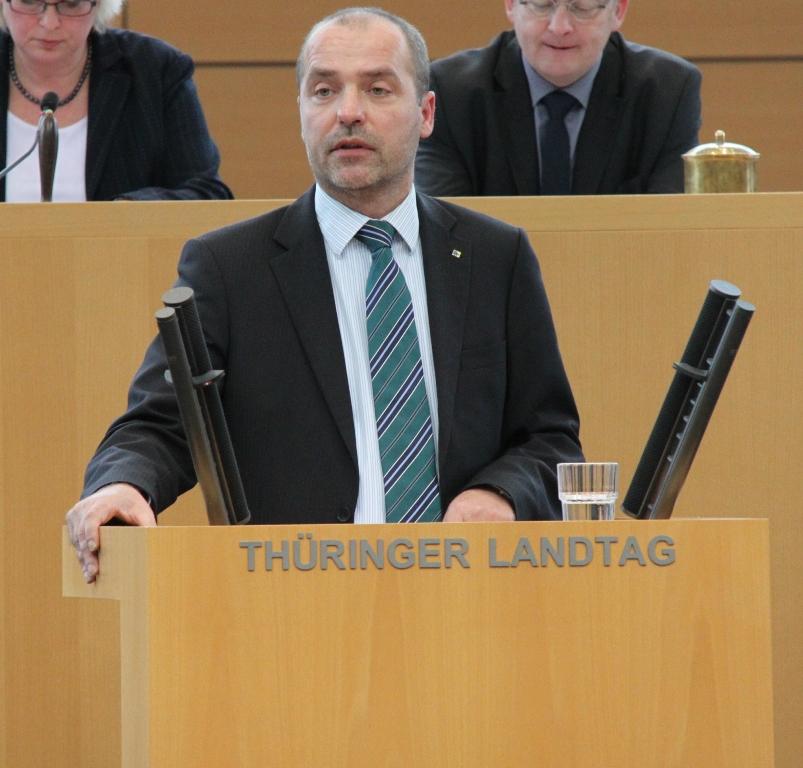 Verbraucherschutzpolitiker Marian Koppe, MdL