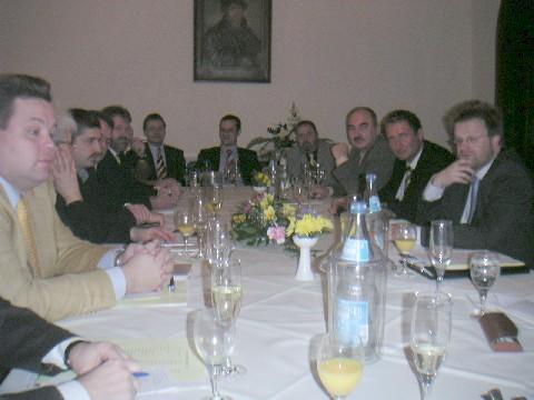 Die Kreisvorsitzenden zur Konferenz
