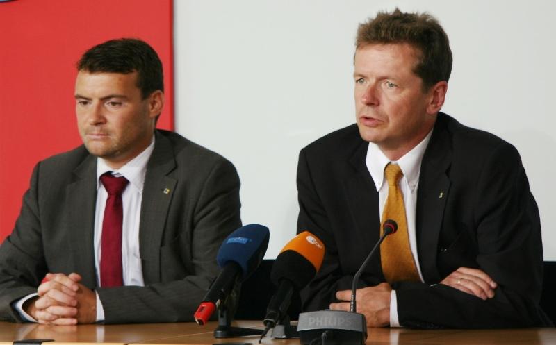 Patrick Kurth, MdB und Uwe Barth, MdL