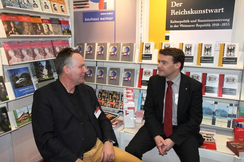 Patrick Kurth, MdB auf der Leipziger Buchmesse