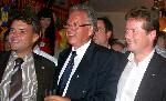 Patrick Kurth, Dr. Peter Röhlinger und Uwe Barth