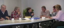 Tagte gestern: Der Kyffhäuserkreisvorstand der FDP