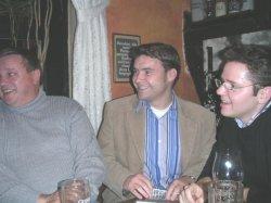 Gelungener Schnappschuß: Klaschka, Kurth, Hardrath