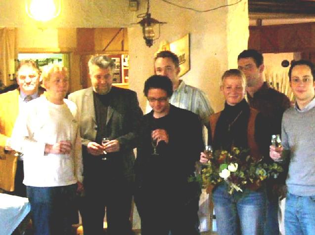Die Mitglieder des neuen KV Unstrut-Hainich-Kreis
