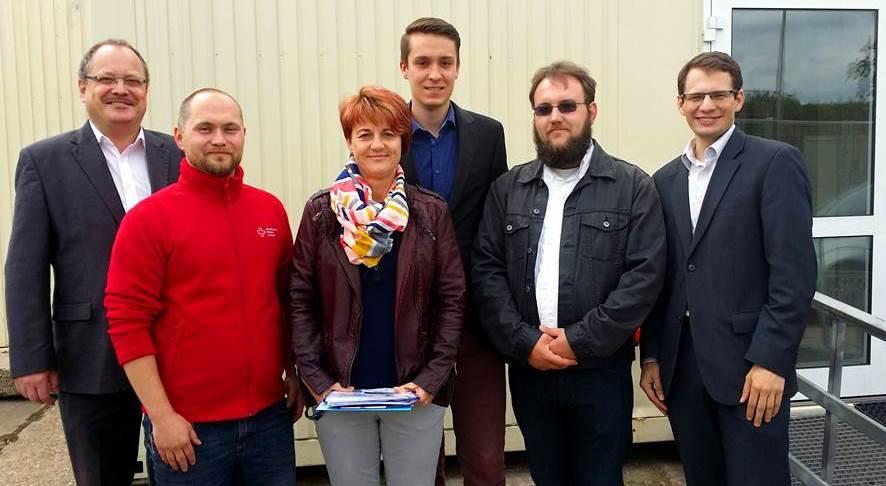 FDP besucht Landesaufnahmestelle in Eisenberg
