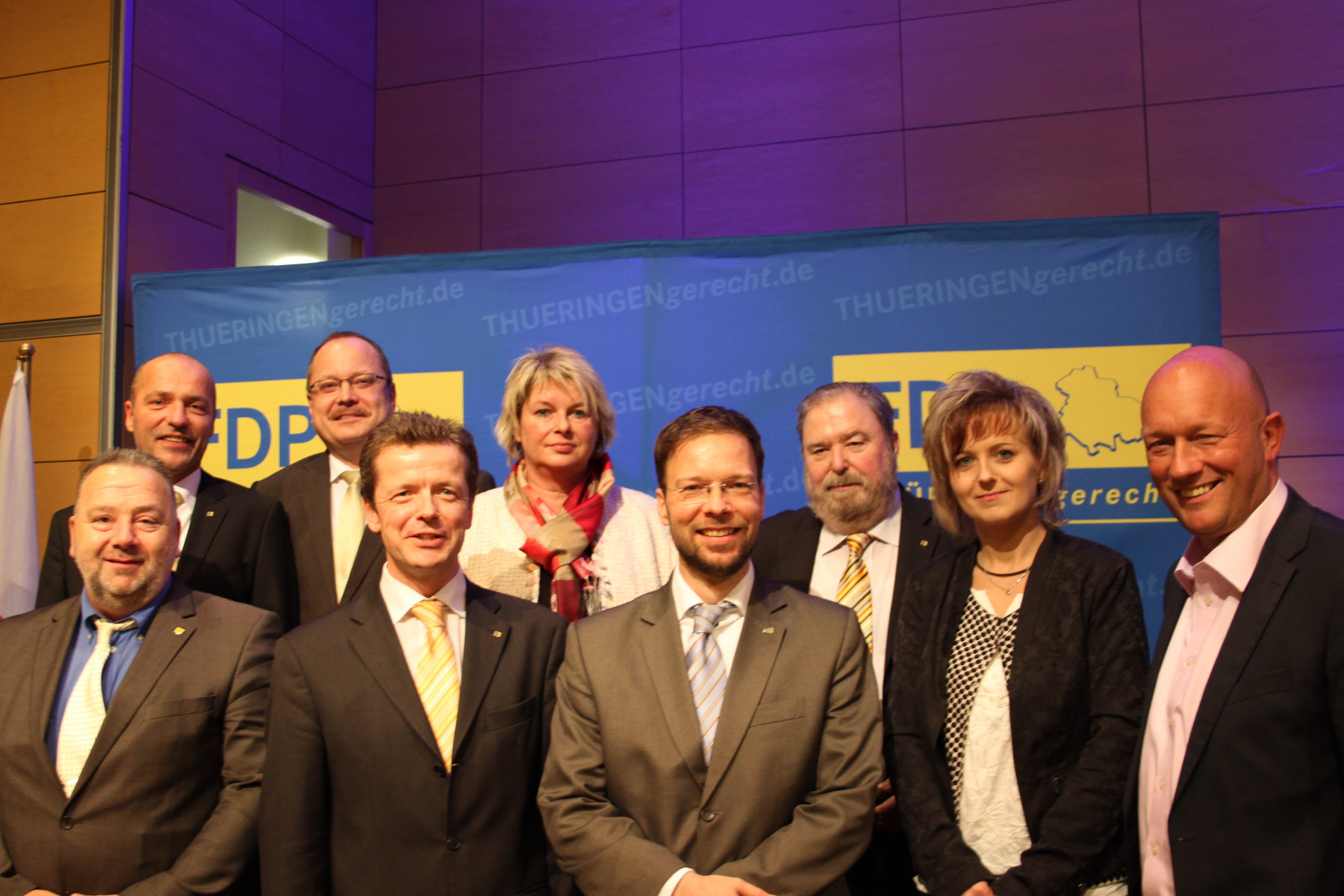 FDP-Kandidaten zur Landtagswahl 2014