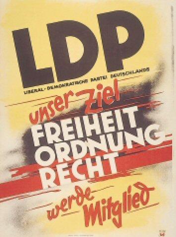 Gründung der LDP vor 60 Jahren