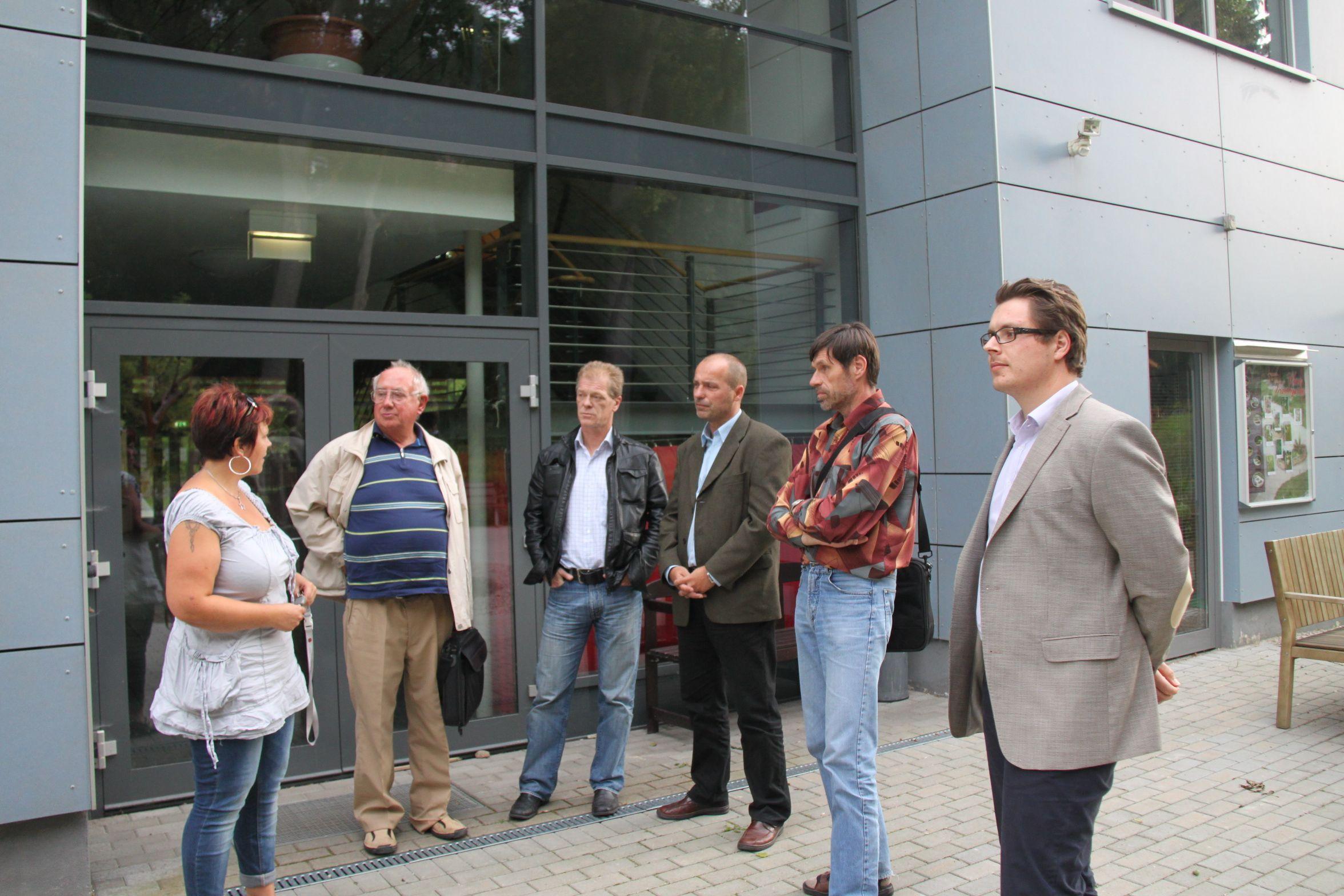 Besuch beim Mehrgenerationenhaus in Königsee