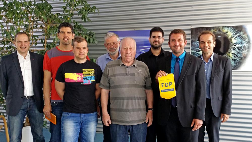 Der LFA Internationale Politik beim TIP in Jena