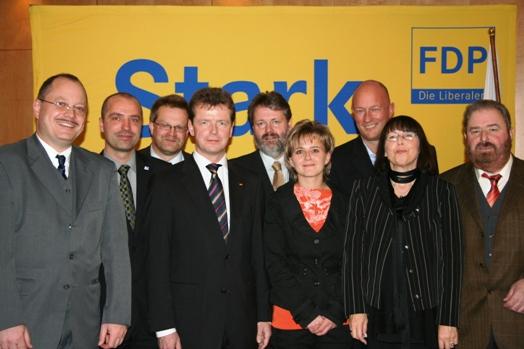 Die Listenmannschaft für 2009