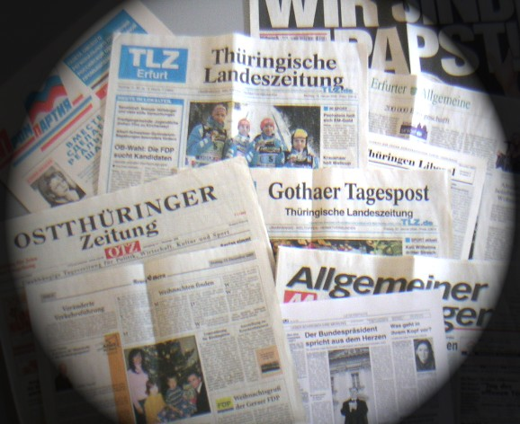 Aktuelle lokale Presseschau