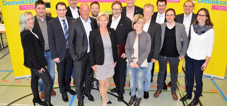 Bundestagswahl 2017: Landesliste der Thüringer FDP gewählt