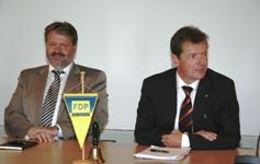MdL Lutz Recknagel und MdL Uwe Barth