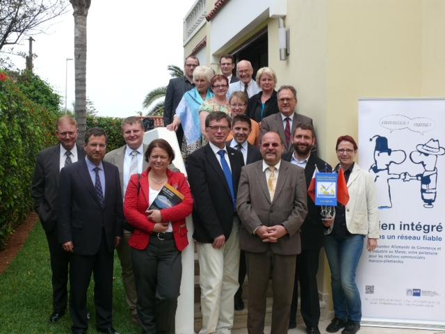 Der LFA Internationale Politik in Marokko