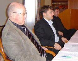 Helmut Deubner, Patrick Kurth, Mike Wündsch (v.l.)