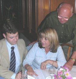 Kurth, Ilka Brückner und Gerhard Hopp