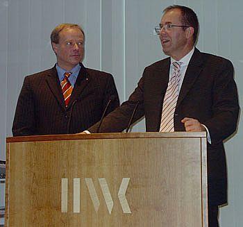 Dirk Niebel und Dr. Heinrich Kolb