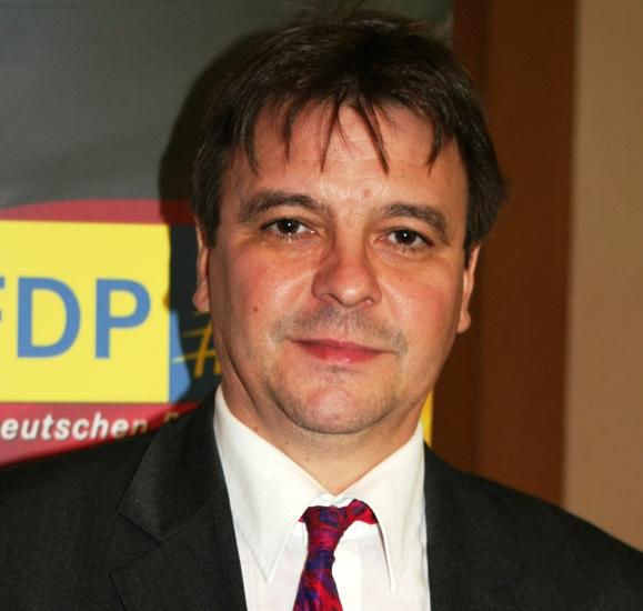 Europaspitzenkandidat Matthias Purdel