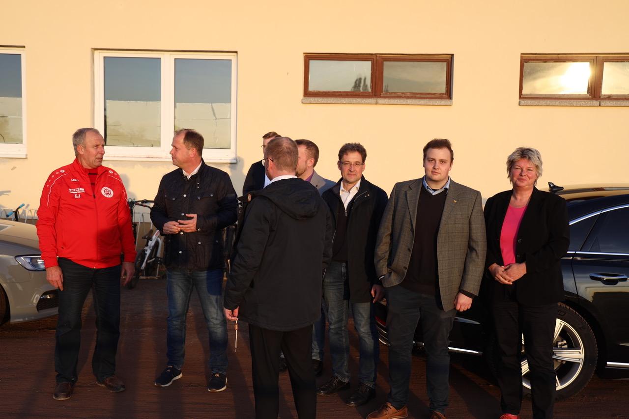 NRW-Vize-Ministerpräsident Joachim Stamp zu Gast in Nordhausen