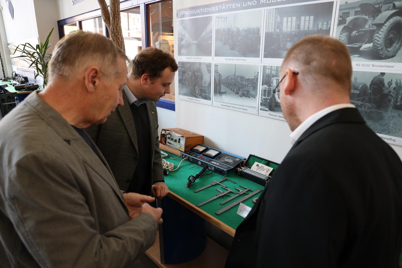 Dr. Marcel Klinge zu Besuch in Nordhausen