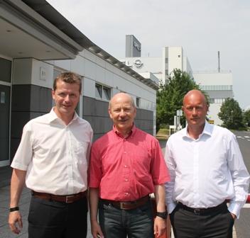 Uwe Barth, Harald Lieske und Thomas L. Kemmerich