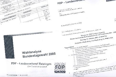 Tischvorlagen und Analysen zur Klausur