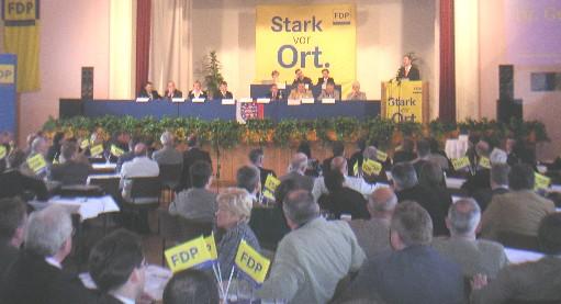 FDP-Landesparteitag tritt zusammen