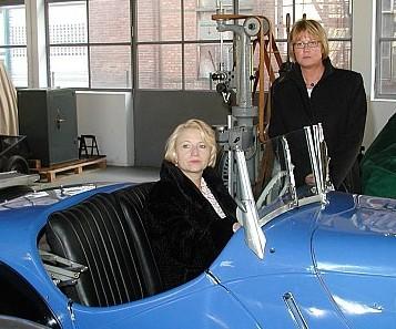 Cornelia Pieper gibt Gas