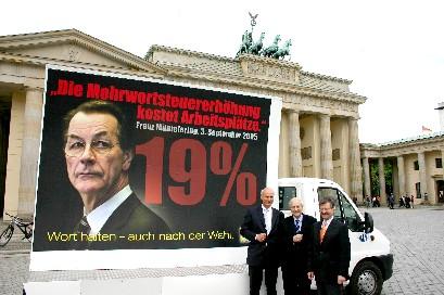 Plakatvorstellung heute in Berlin