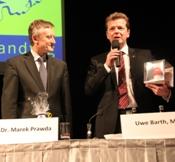 Uwe Barth und Botschafter Marek Prawda